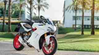Ducati SuperSport S White