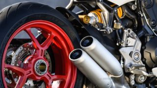 Ducati SuperSport S silencer