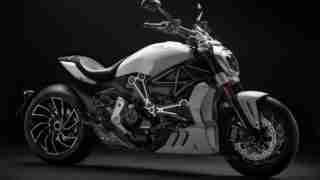 Ducati XDiavel S Iceberg White edition