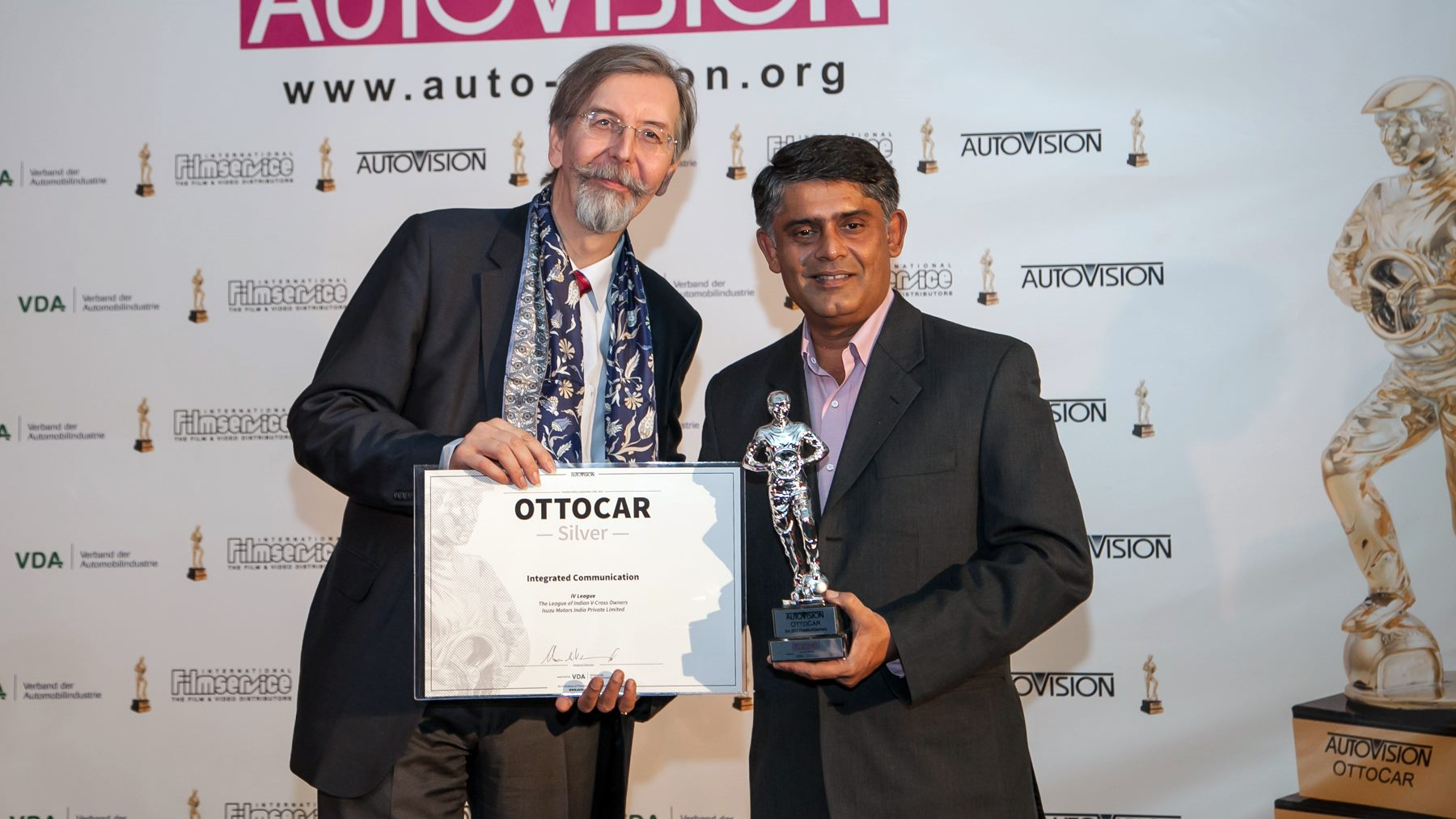 ISUZU wins Ottocar Silver Award