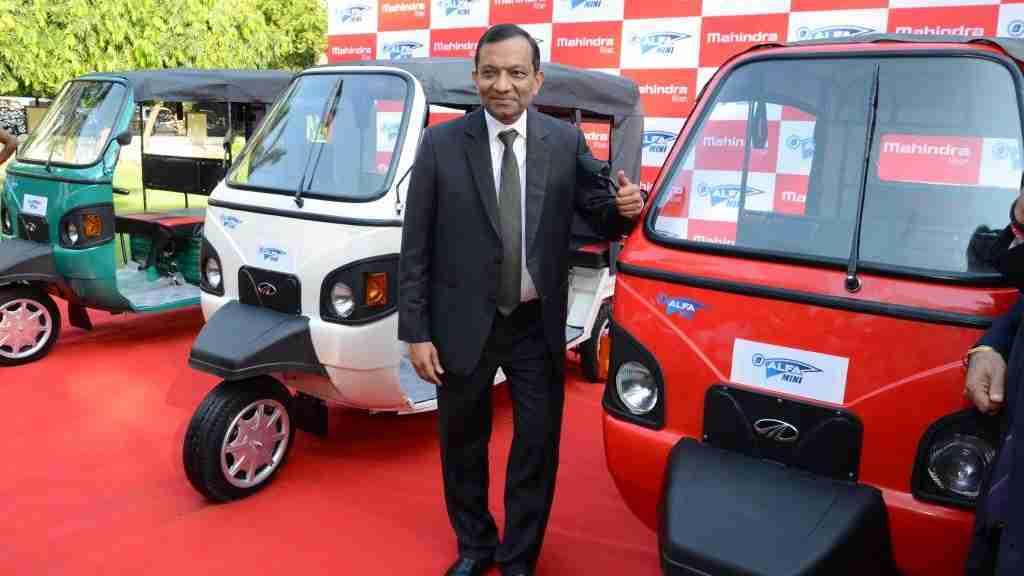 Mahindra e-Alfa Mini Auto