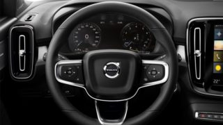 New Volvo XC40 steering