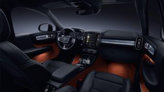 New Volvo XC40 interior