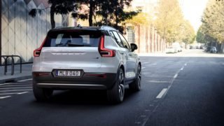New Volvo XC40 rear