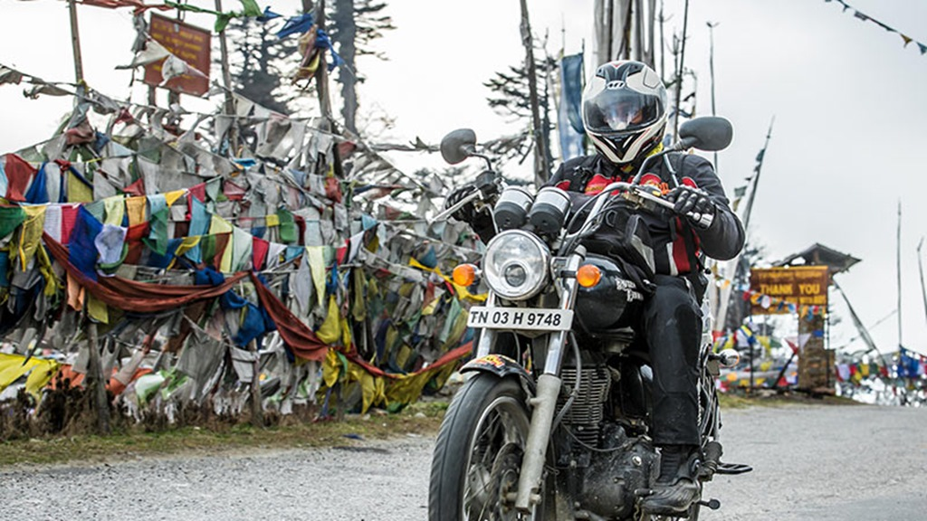 Royal Enfield Tour Bhutan 2017