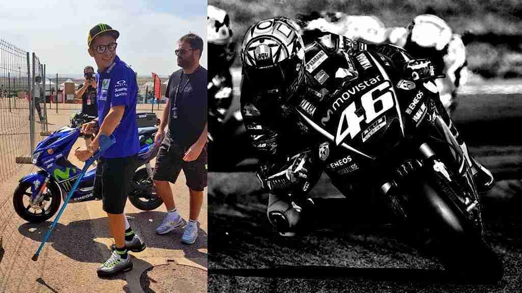 Valentino Rossi will race at MotoGP Aragon 2017