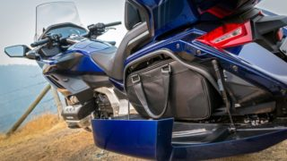 2018 Honda Gold Wing luggage