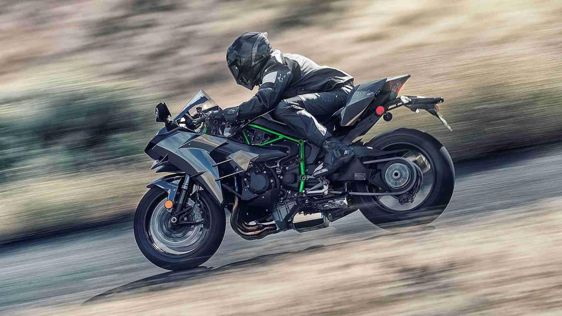 Kawasaki Ninja H2 Hd Wallpaper Iamabiker Everything Motorcycle