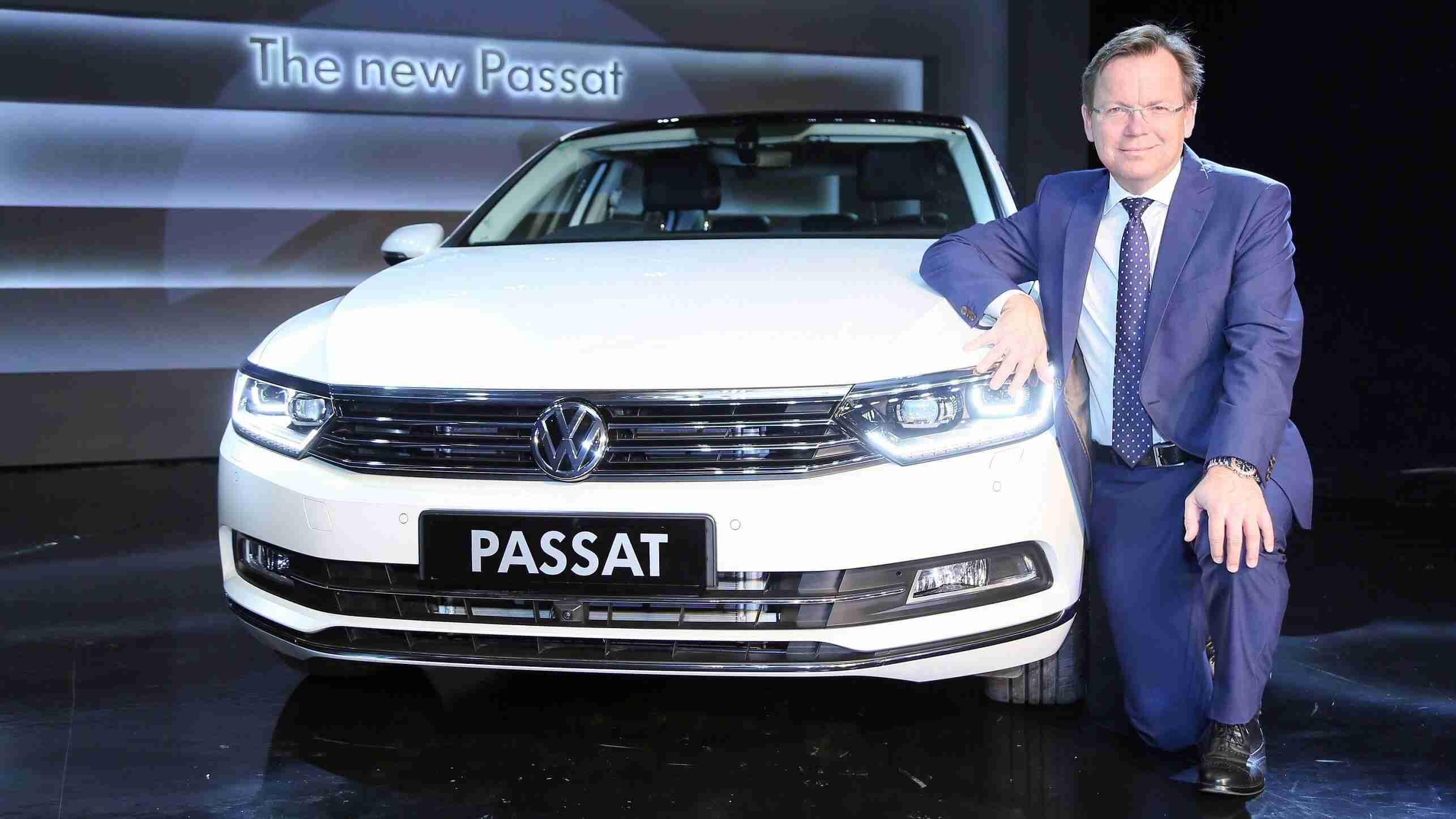 New Volkswagen Passat launched in India