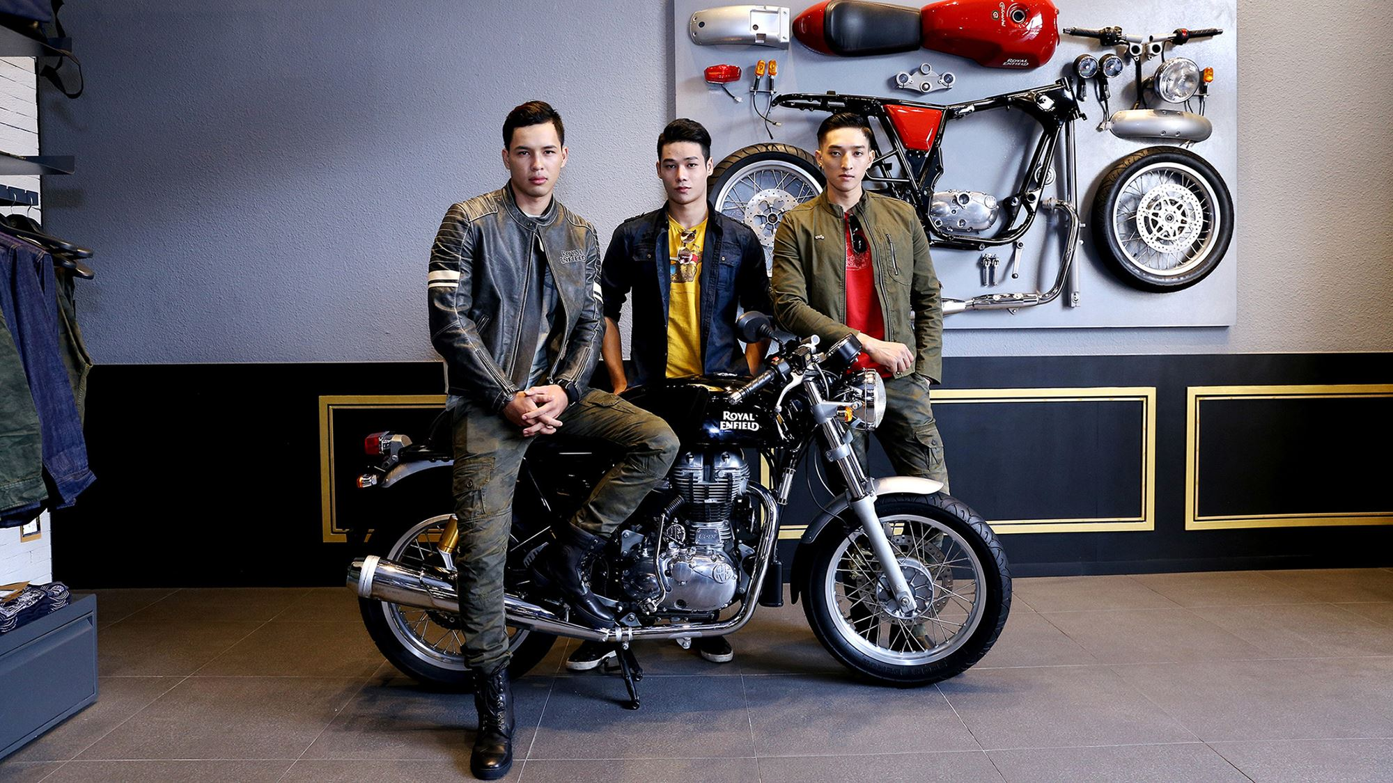 Royal Enfield flagship store in Ho Chi Minh City