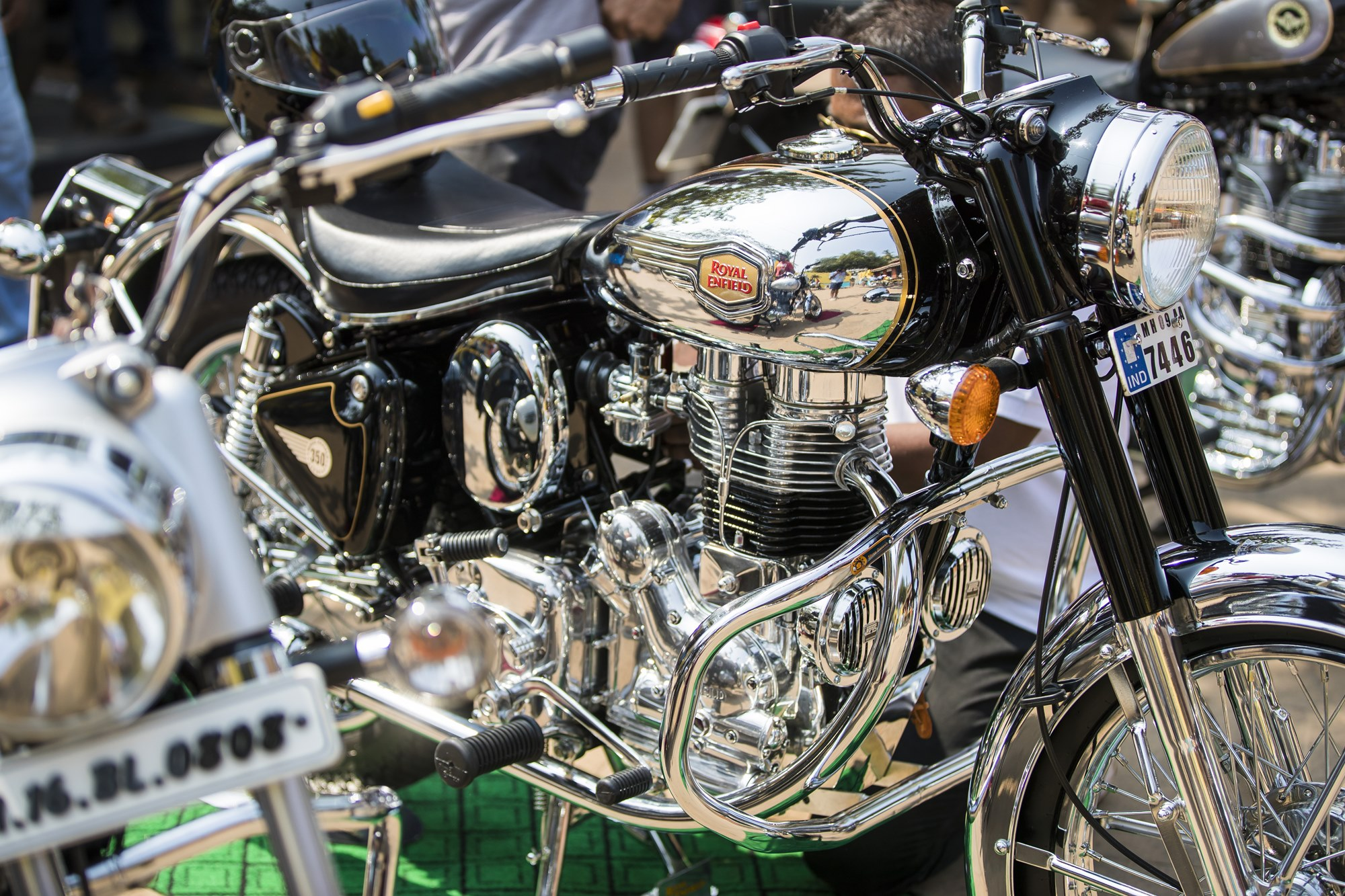 2017 Royal Enfield Rider Mania photos