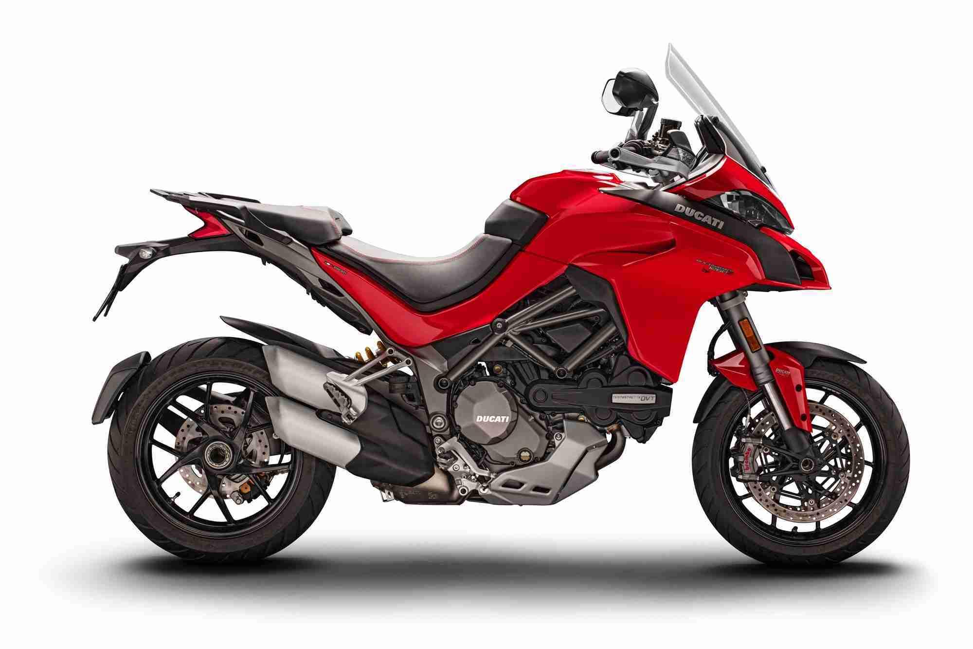 2018 Ducati Multistrada 1260 and Multistrada 1260 S images
