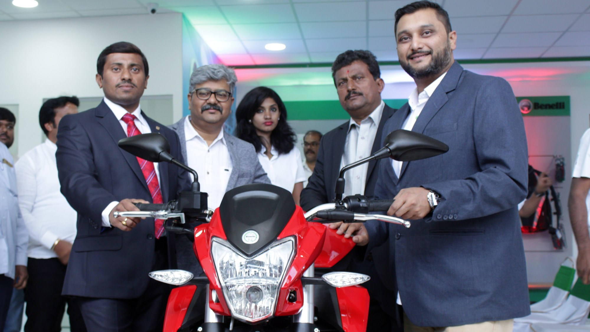 Bangalore Whitefield DSK Benelli showroom