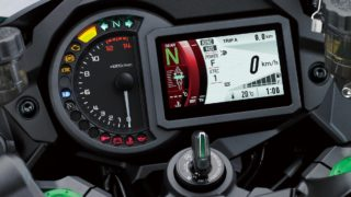 Kawasaki Ninja H2 SX instrument console