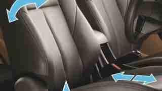 2018 ISUZU D-MAX V-Cross - 6-way power adjustable driver seat