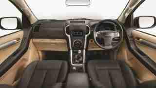 2018 ISUZU D-MAX V-Cross -Dashboard-View