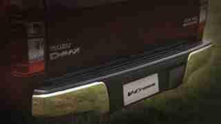 2018 ISUZU D-MAX V-Cross -Rear Chrome Bumper