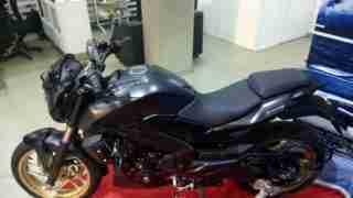 Dominar 400 colour options matt black