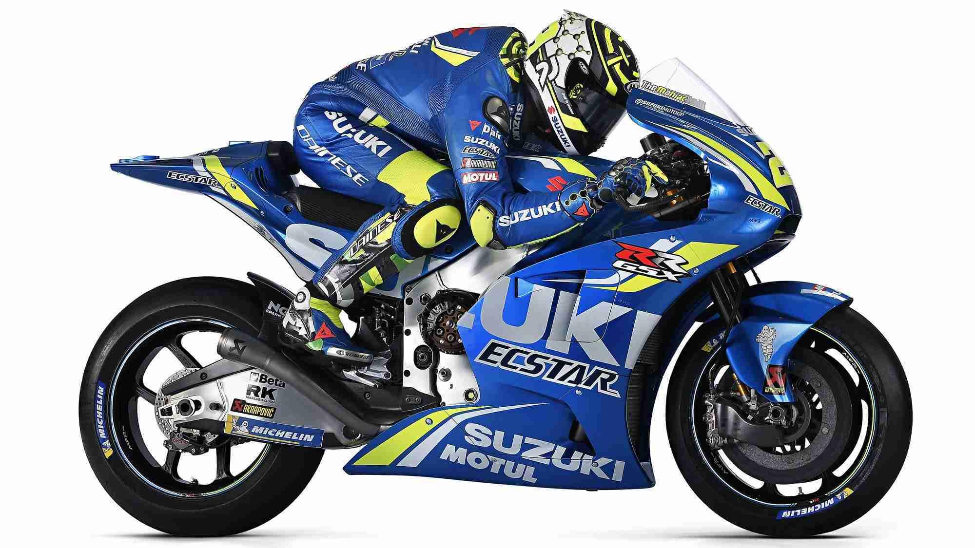 Suzuki MotoGP 2018 livery