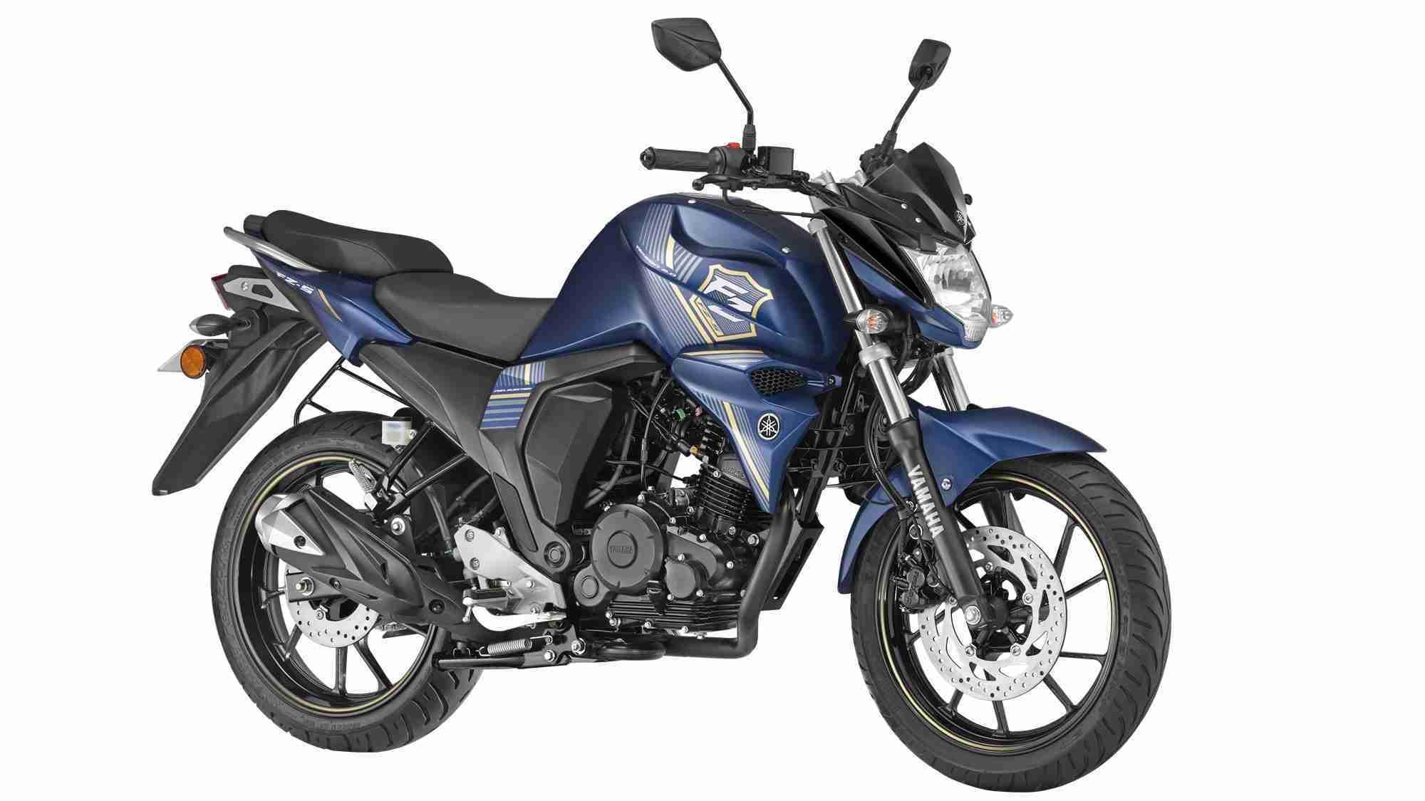 Yamaha FZ-S FI with rear disc brake