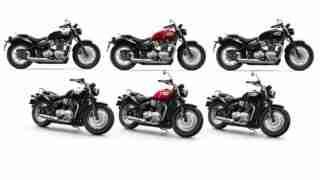 2018 Triumph Bonneville Speedmaster colour options