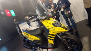 Aprilia Storm 125 yellow colour option
