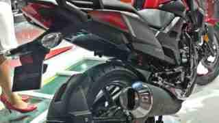 Honda XBlade back view