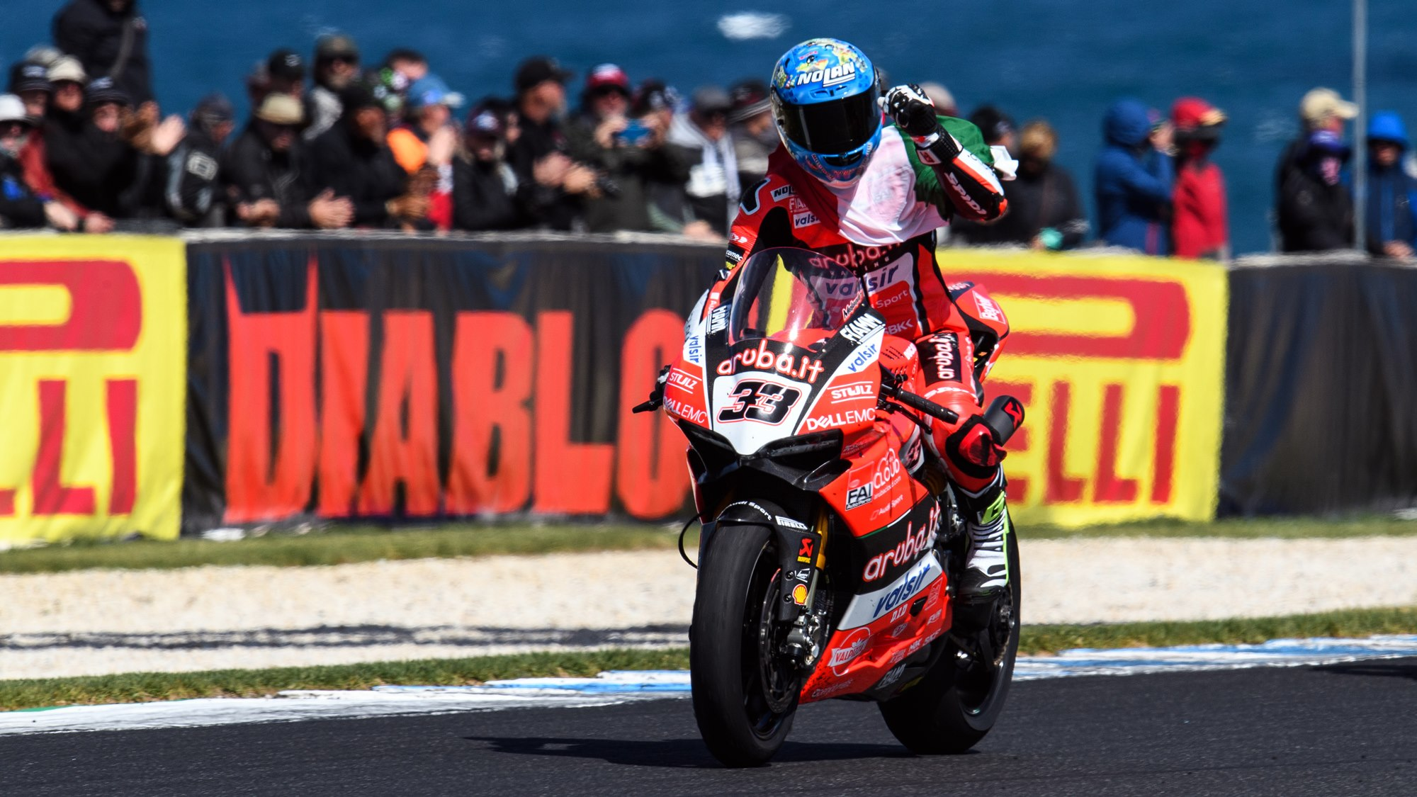 Marco Melandri takes double win at WSBK Phillip Island