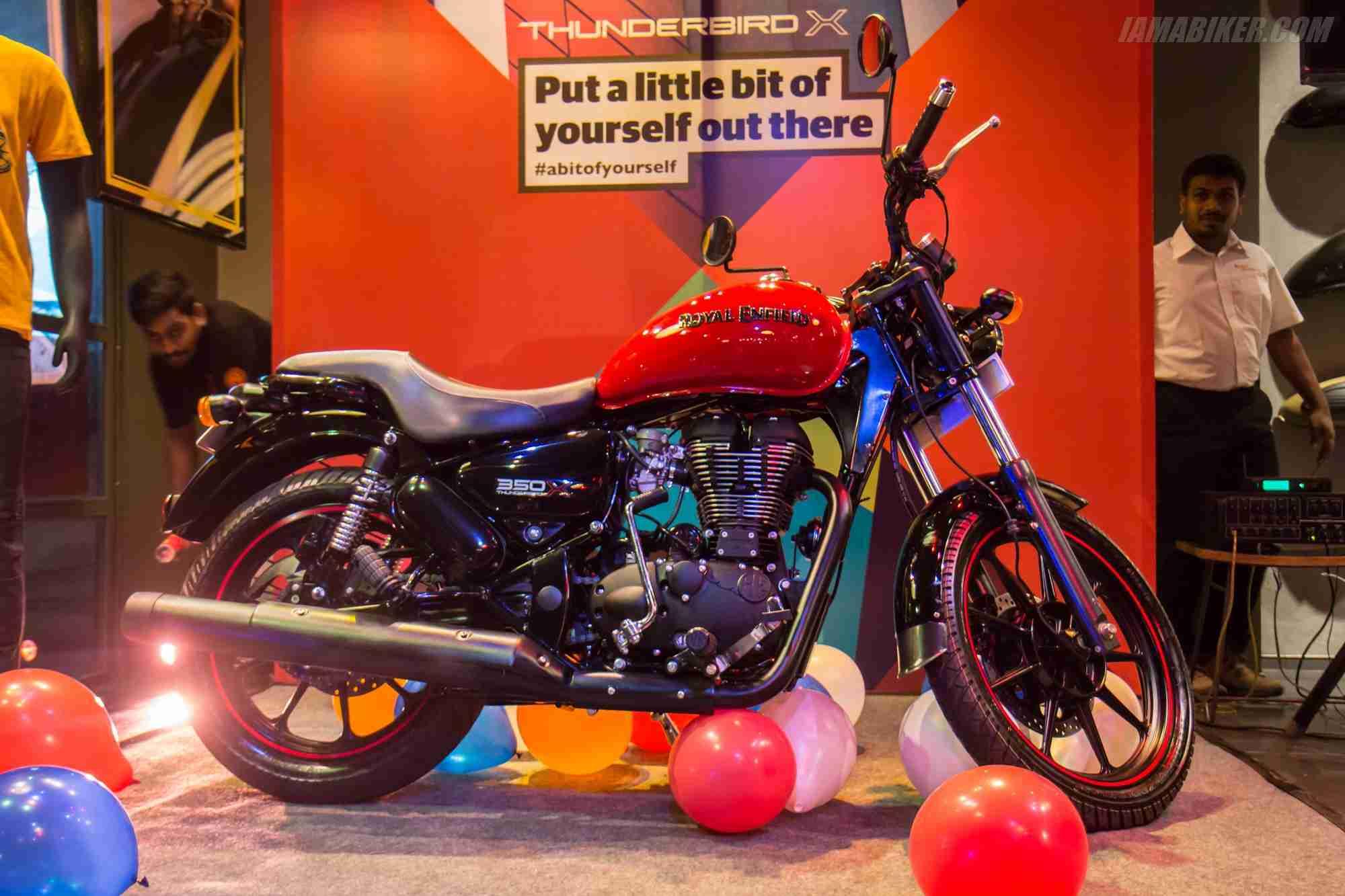 Thunderbird 350x Full View Iamabiker
