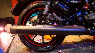 Thunderbird 350X back tyre