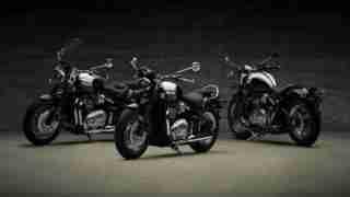 Triumph Bonneville Speedmaster family
