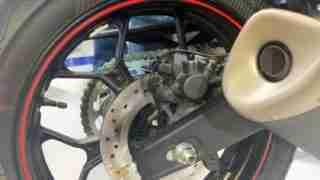 Yamaha YZF-R3 ABS Metzeler tyres India