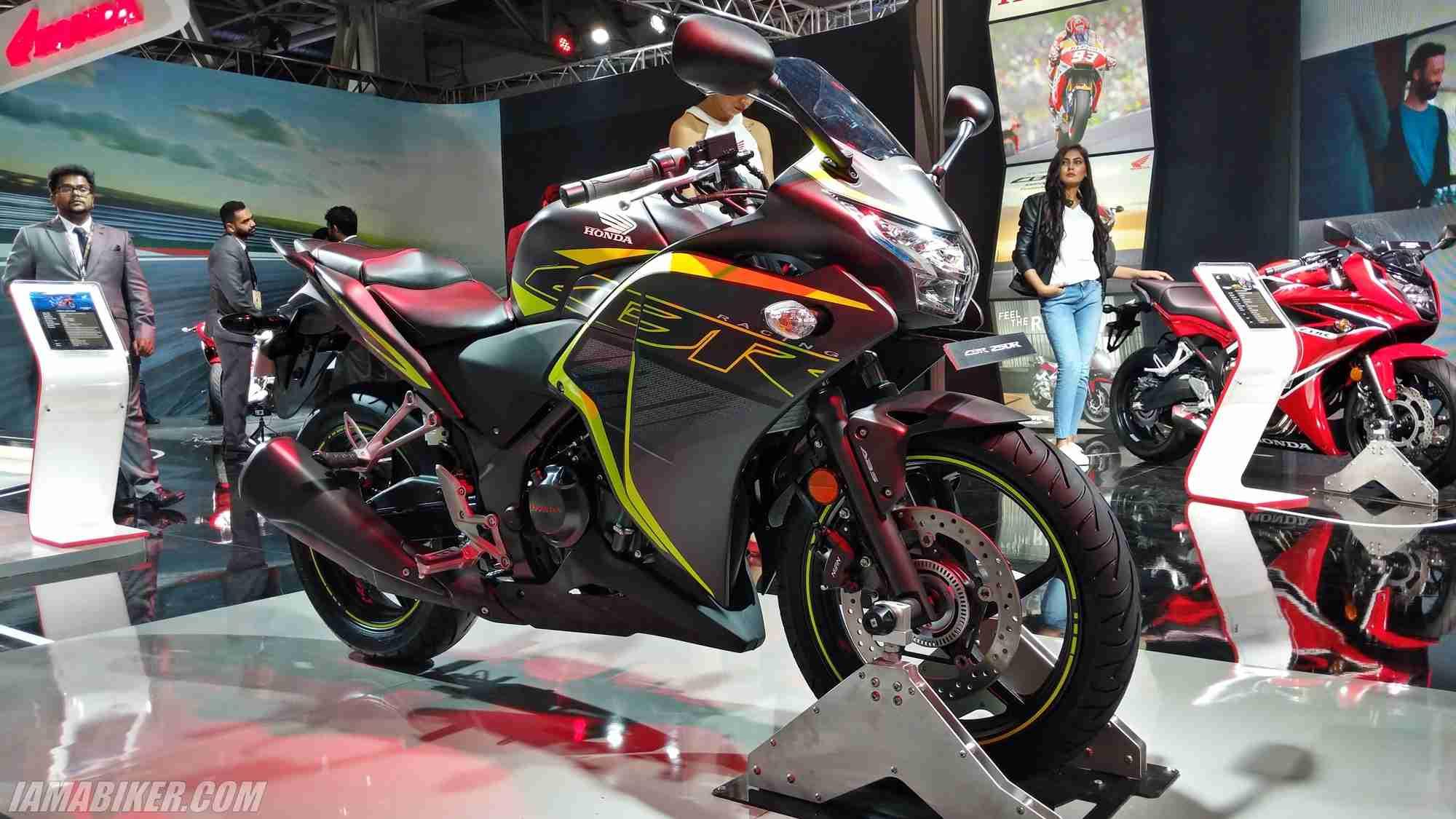 2018 Honda CBR 250R for India