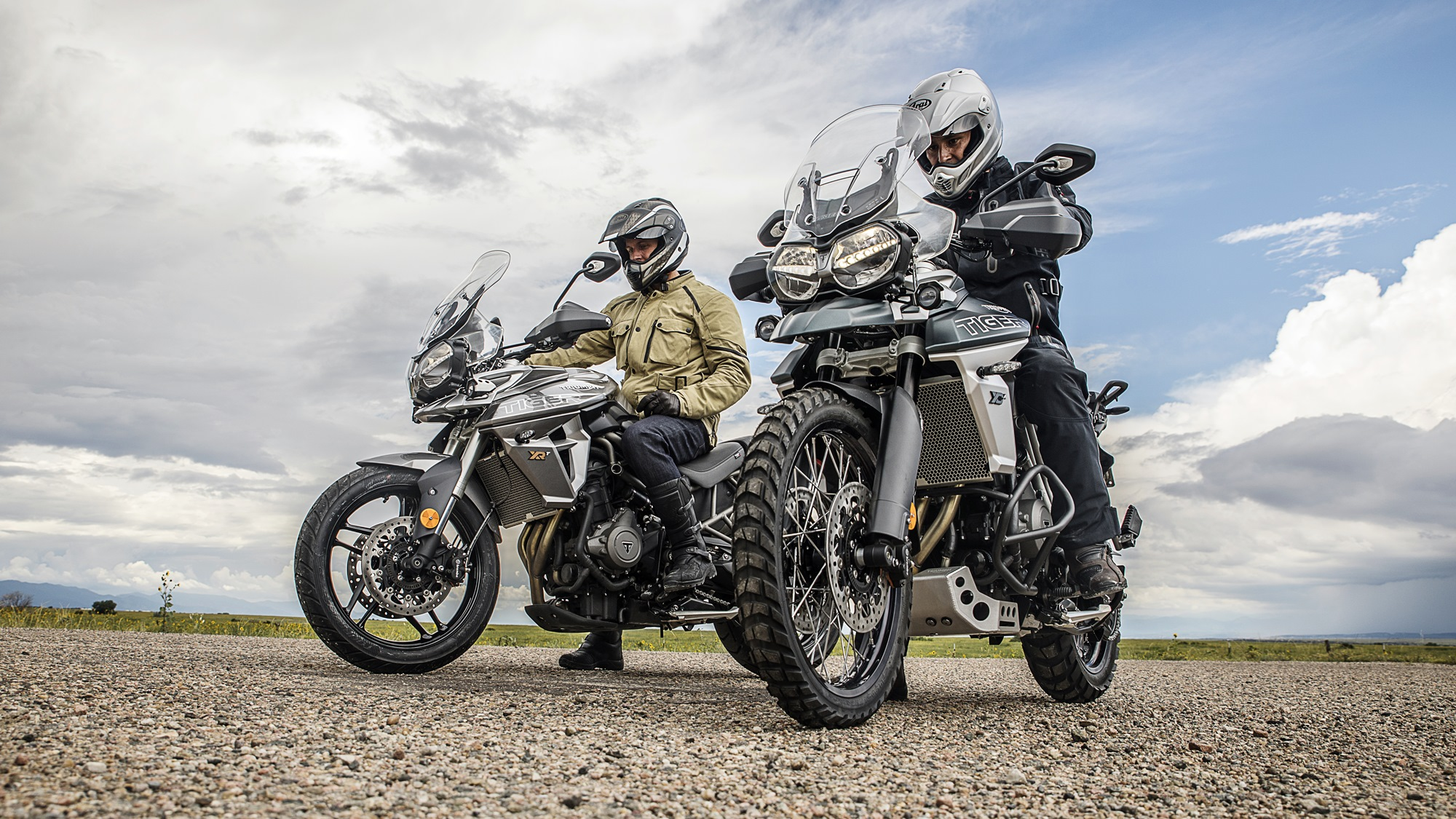 2018 Triumph Tiger 800 XC and XR
