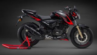 TVS Apache RTR 200 4V Race Edition 2.0 with abs and slipper clutch