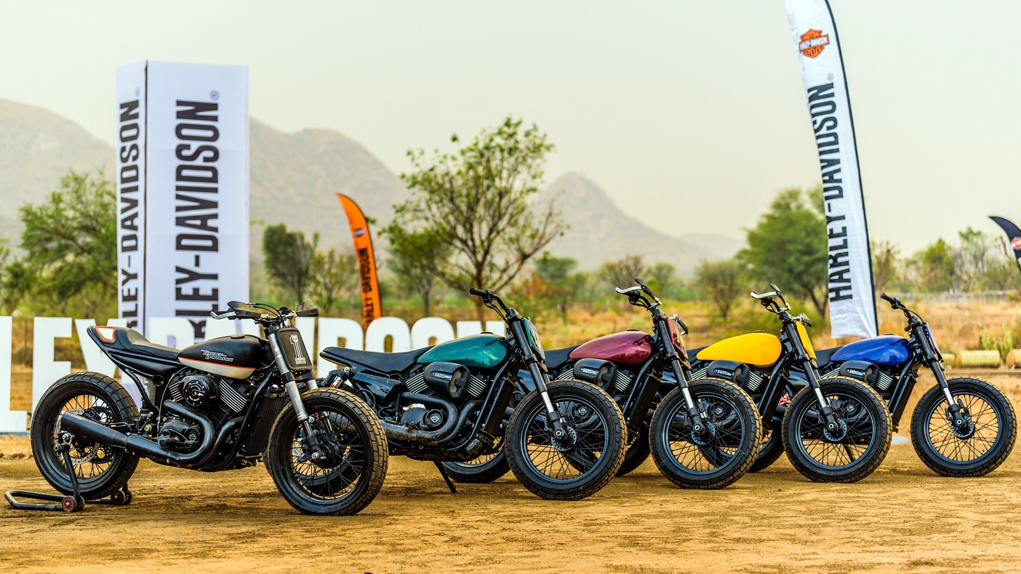 Harley Davidson Flat Track Racing now in India
