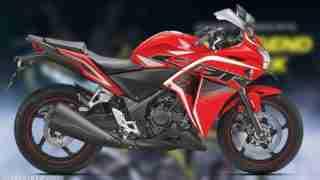 Honda CBR 250R Sports Red colour option