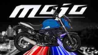 Mahindra Mojo UT 300 Volcano Blue
