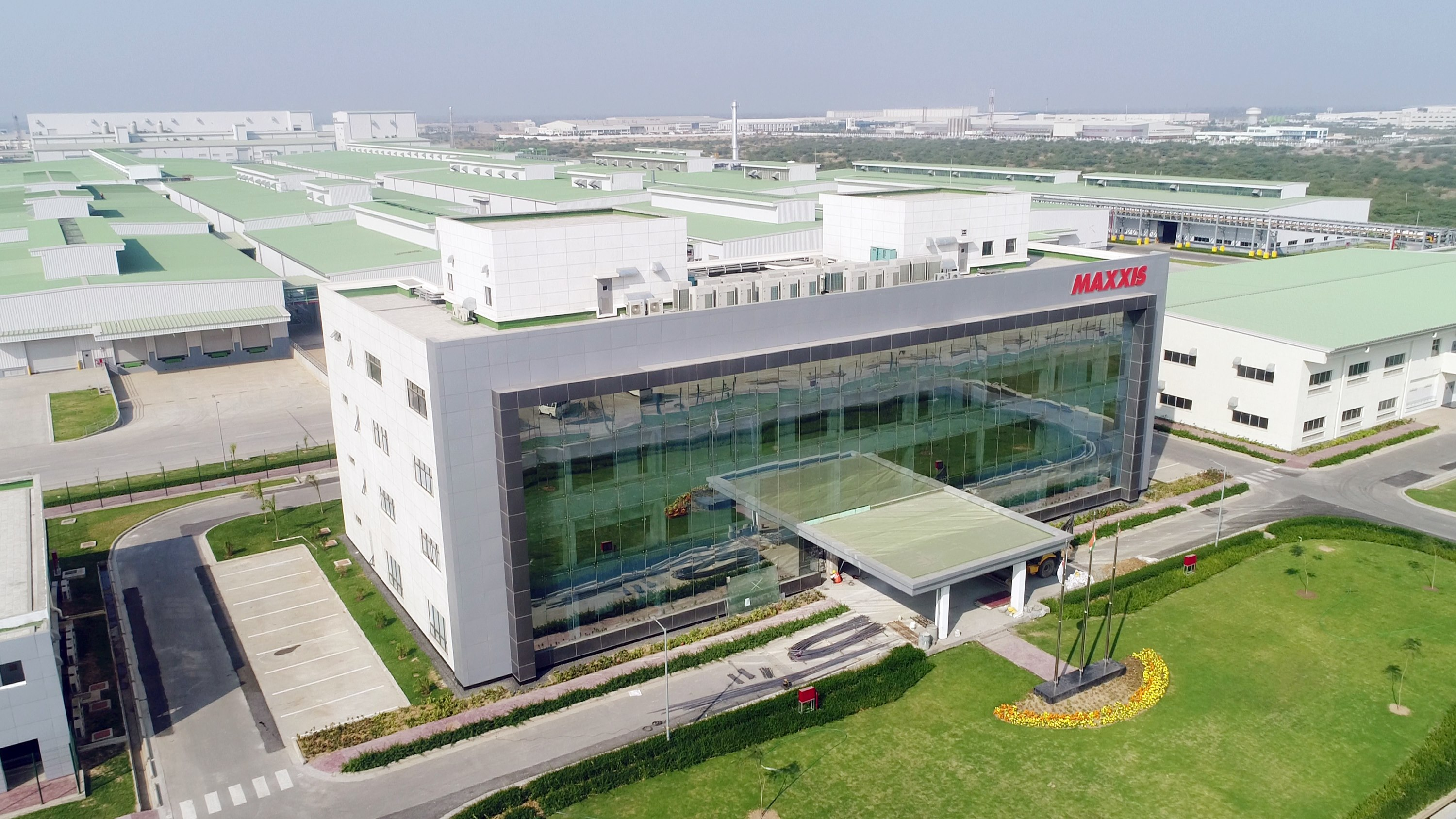 Maxxis Tyres manufacturing plant in Sanand Gujarat
