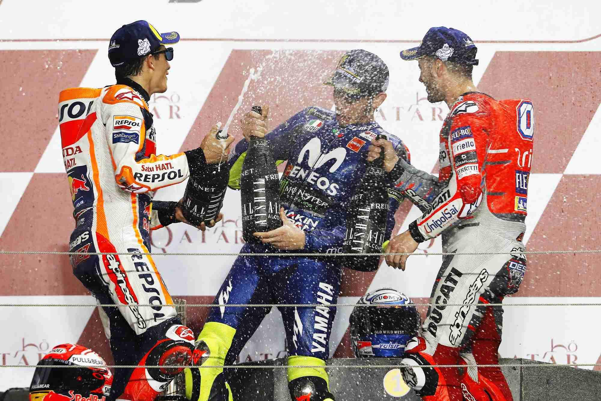 MotoGP Qatar 2018 race winners