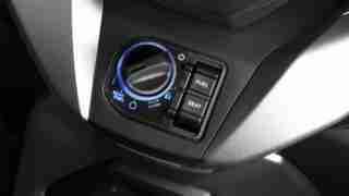New Honda Forza 300 seat opening dial