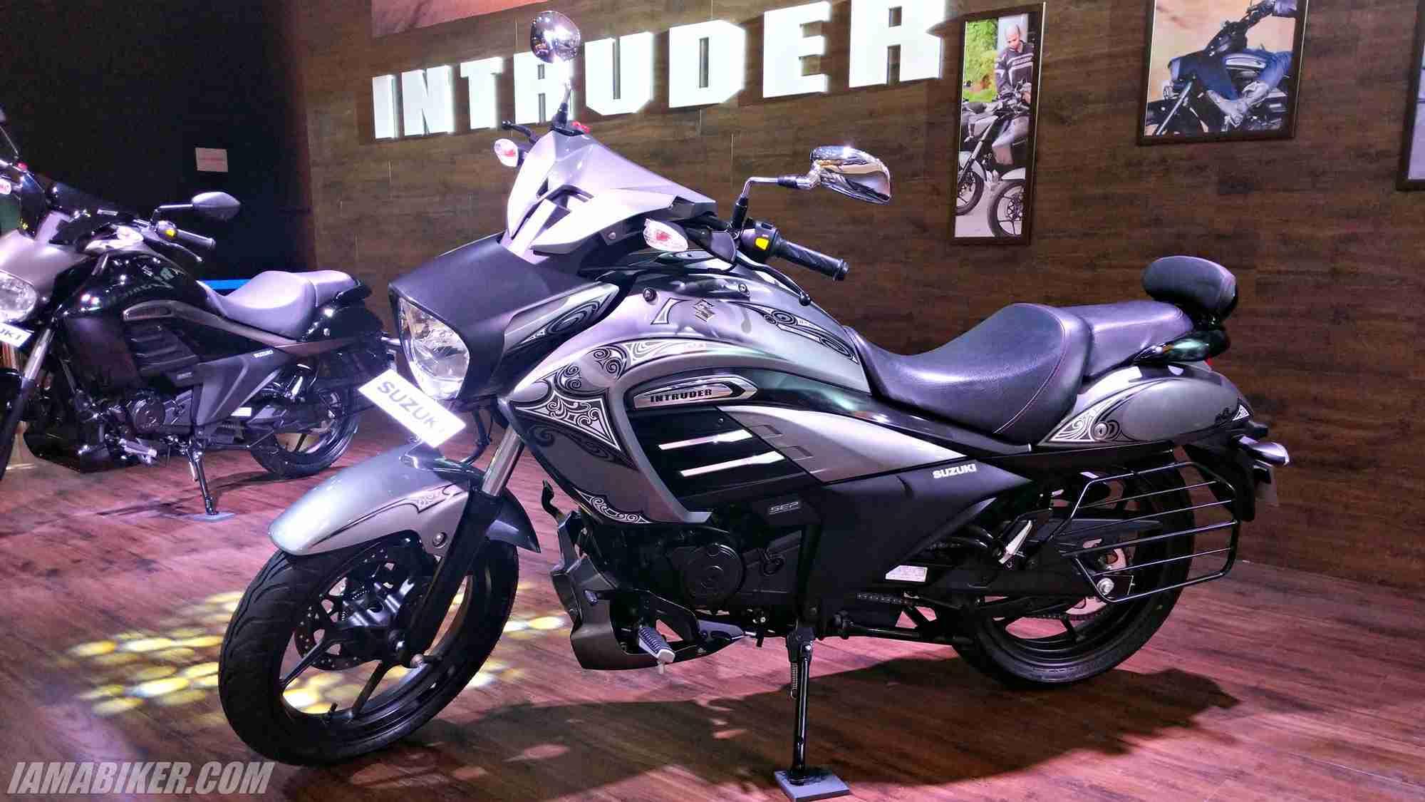Suzuki Intruder Fi launched