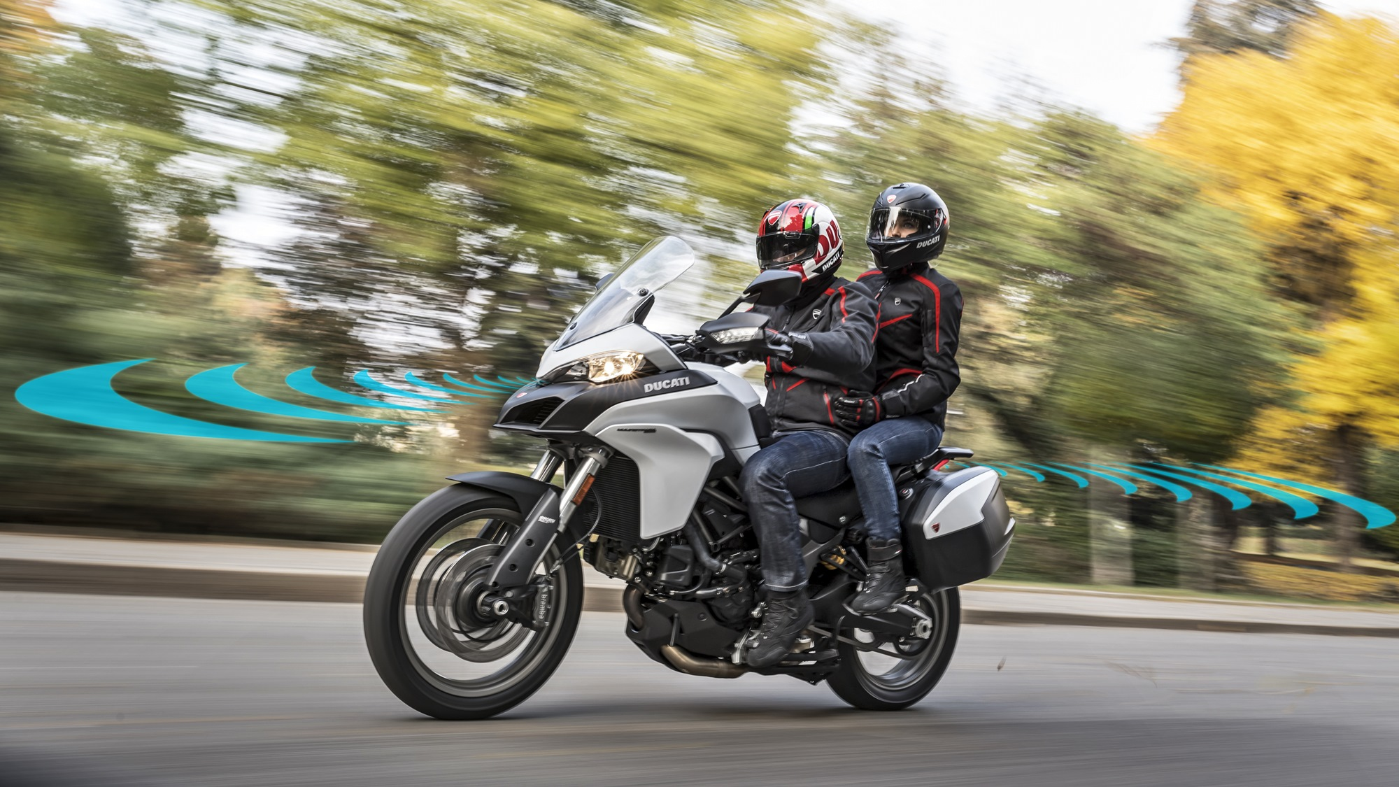 Ducati rider radar system