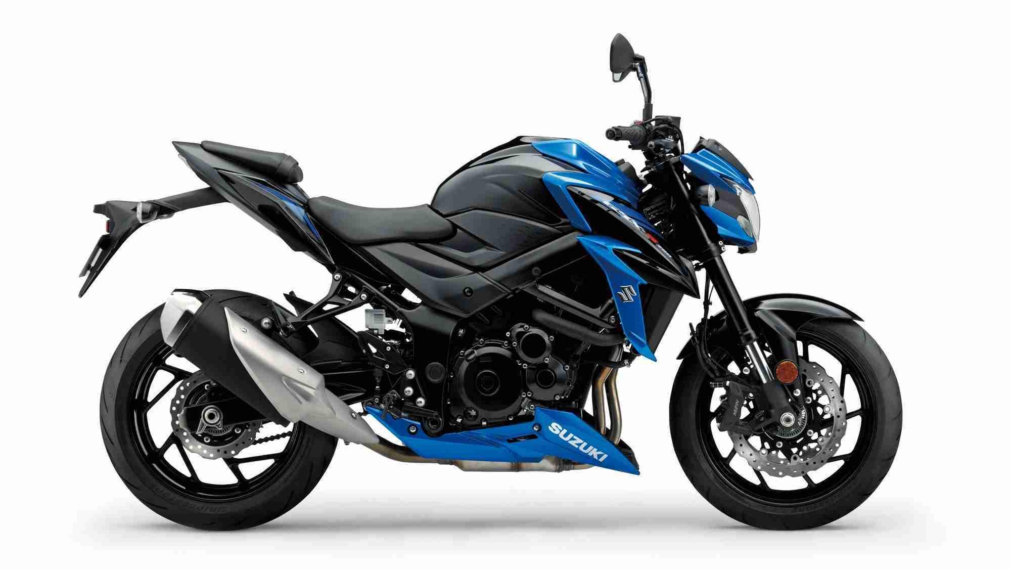 Suzuki GSX-S750 Blue colour option