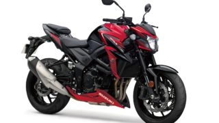 Suzuki GSX-S750 Red colour option