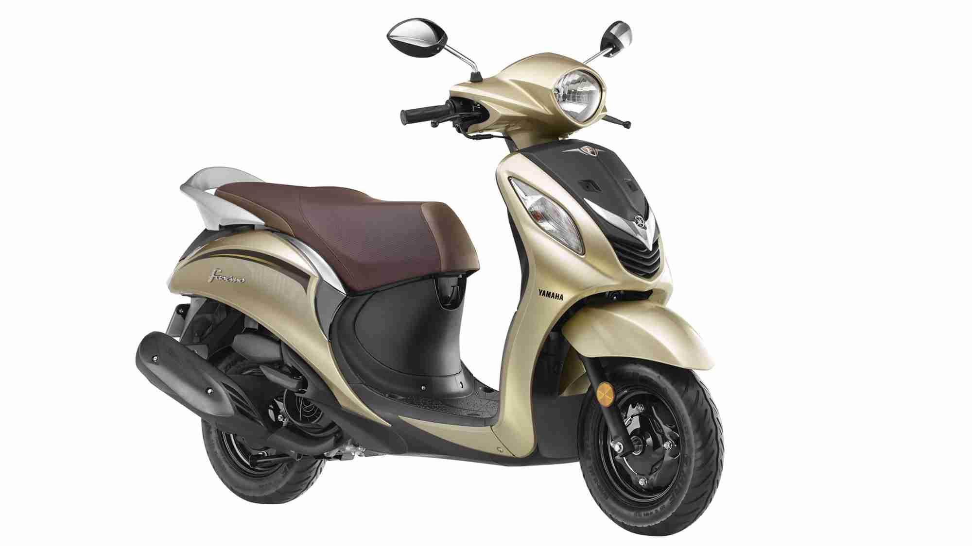 Yamaha Fascino gold colour option