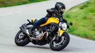 2018 Ducati Monster 821 Yellow