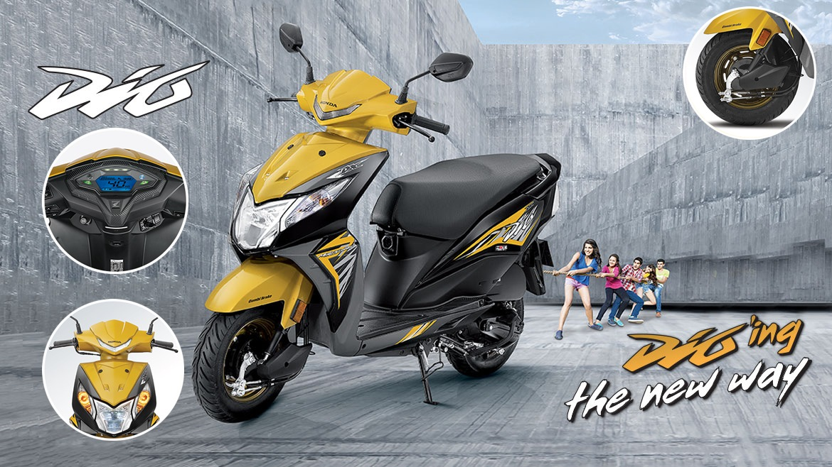 2018 Honda Dio features