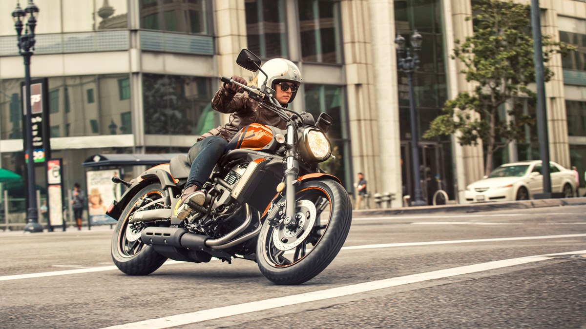 Kawasaki Vulcan S Orange colour option