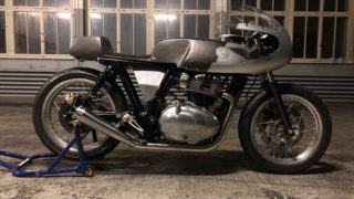 'Rohini' – By Young Guns Speed Shop - Base Continental GT 650 Twin